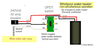 electric water heater wiring diagram plus electric water