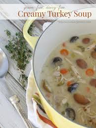 turkey veggie soup dairy free