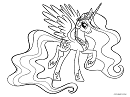 Free Printable My Little Pony Coloring Pages For Kids Cool2bkids Pony Coloring Pages