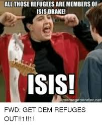Drake Meme Generator - all those refugees are members of isis drake isis memegenerator