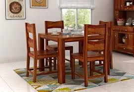 Dining Room Tables And Chairs For 4 4 Seater Dining Table Set Online Dining Table Four Seater Set