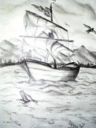 beautiful sketch of nature drawing of sketch