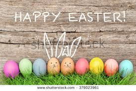 Easter Egg Decorating Bunny by Easter Eggs Cute Bunny Funny Decoration Stock Photo 565004161