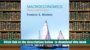 read online macroeconomics policy and practice frederic s