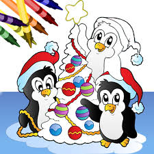 christmas coloring book app store
