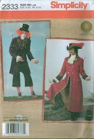 Sewing Patterns Halloween Costumes Simplicity Halloween Costume Sewing Pattern Misses Men