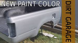 laying down paint trd cement grey truck update 4k youtube