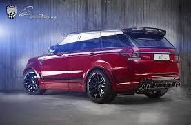 land rover lumma lumma design presents supercharged rrs based clr rs
