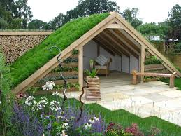 green roof shed at chasewater innovation centre brownhills