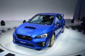2015 subaru wrx engine 2015 subaru wrx sti bows in detroit with a big wing and 305hp 2 5l