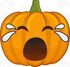 halloween food clip art a crying halloween pumpkin cartoon clipart vector toons
