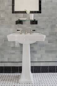 Subway Tiles Bathroom by 100 Vintage Tile Backsplash Contemporary Bathroom