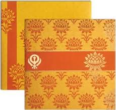 sikh wedding cards 17 best sikh wedding cards images on sikh wedding