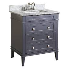 Bathroom Sink With Cabinet by Kitchen Bath Collection Kbc L30gycarr Eleanor Bathroom Vanity With