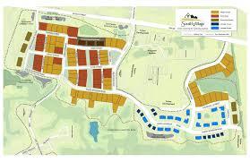 site plan south village