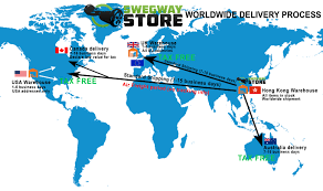 Fedex Delivery Routes Map by Worldwide Shipping Process Swegway Store