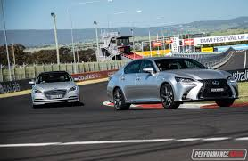 lexus australia build 2016 hyundai genesis vs lexus gs 350 v6 luxury car comparison