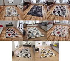 Hong Kong Home Decor Hong Kong Hexagon Rug 100 Acrylic Hand Tufted Large Geometric