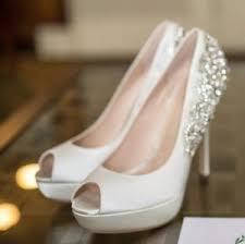 Wedding Shoes London Paradox London Pink Indulgence White Ivory Satin Wedding Bridal
