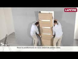 comment poser une porte de chambre poser un système coulissant à galandage