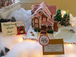2016 gingerbread house contest media page