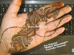shaded arabic mehndi designs for hands tutorial easy diy henna