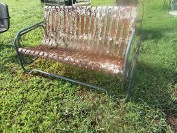 Antique Metal Porch Glider Unrestored Metal 3seat Vintage Porch Gliders Vintage Metal Gliders