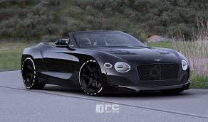 bentley blacked out bentley exp 10 speed 6 looks sweet as a roadster too