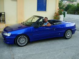 peugeot 306 convertible peugeot 306 cabrio in kefallonia jimgreetingsfromgreece flickr