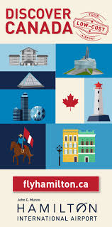 Map Of Canada Showing Calgary by Hamilton International Airport John C Munro