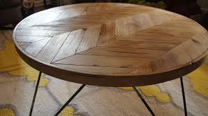 round hairpin coffee table flecha round coffee table new history