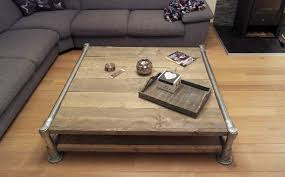 Pipe Coffee Table 5 places to add industrial pipe for a rustic look modernize