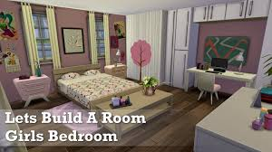 Sims Kitchen Ideas The Sims 4 Room Build Girls Bedroom Youtube