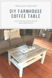 farmhouse coffee and end tables diy farmhouse coffee table steph home diy thoughts inspiration