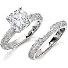 diamond bridal sets bridal diamond ring sets diamond bridal sets on a budget home