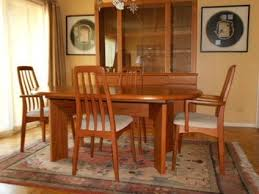 Teak Dining Room Chairs Mid Century Modern Dining Room Table And Chairs Of Worthy Teak