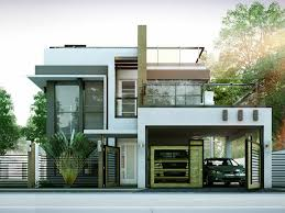 Small Two Story House Modern House Designs Series Mhd 2014010 Pinoy Eplans Modern