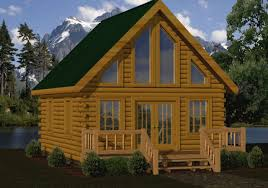 small log cabin plans small log cabin kits floor plans cabin series from battle creek tn