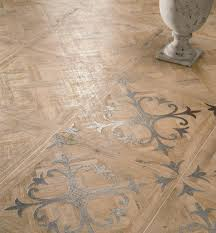 floor wood look tiles by ariana with vintage lace imprintceramic
