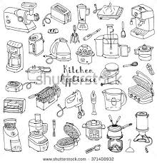 Electronics Kitchen Appliances - small kitchen appliances stock images royalty free images