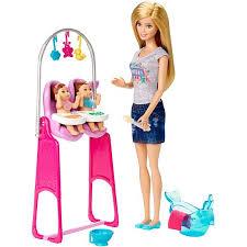 barbie careers twin babysitter ckj22 barbie