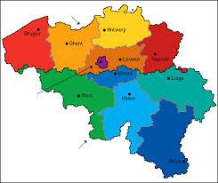 map and belgium belgium factsheet eupedia