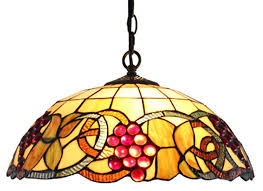 colored glass pendant lights amora lighting am1040hl16 tiffany style colorful hanging pendant