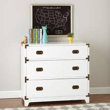White Bedroom Bureau White Campaign Dresser The Land Of Nod