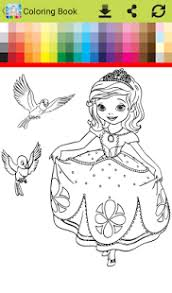 coloring book sofia android apps google play