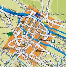 Nice France Map by France Caravan Chronicles
