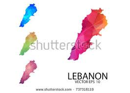 lebanon on the map map of lebanon stock images royalty free images vectors