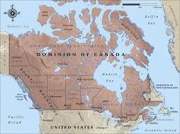 map of be map of canada in 1914 nzhistory new zealand history