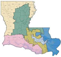 Louisiana Area Code Map by New Orleans Congressional District Map Afputra Com