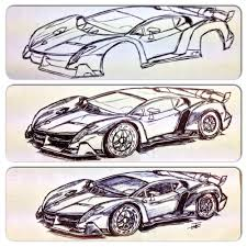 lamborghini drawing my attempt of drawing the lamborghini veneno sketches e ideas